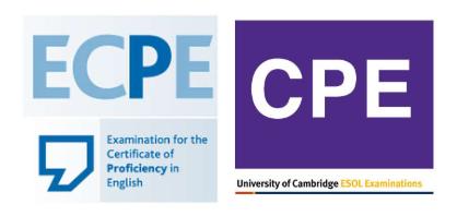 Proficiency, Cambridge ή Michigan;