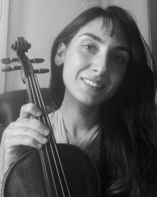 Πεντερίδου Σοφία – Βιολί ιδιαίτερα μαθήματα